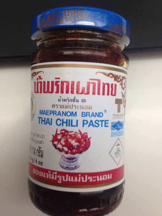 My favorite Red Thai Chilly Paste