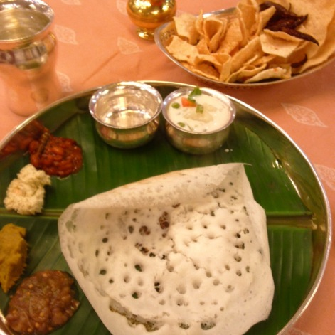 Appam & Veg Stew @ Lunch