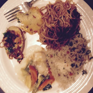 All Veg French & Chinese main course