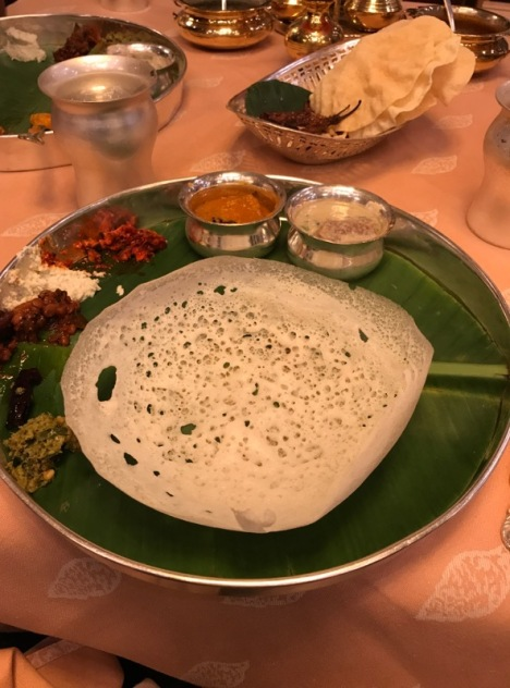 Mutton Stew and Appam in Hyderabad