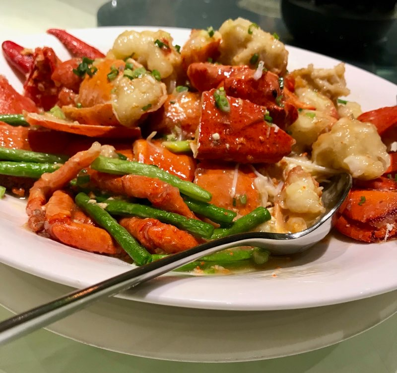 In A Chinese City : Different Cuisines And ManyFlavours