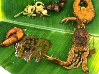 Buffet of Squids, Fish, Crab, Chicken & Prawns