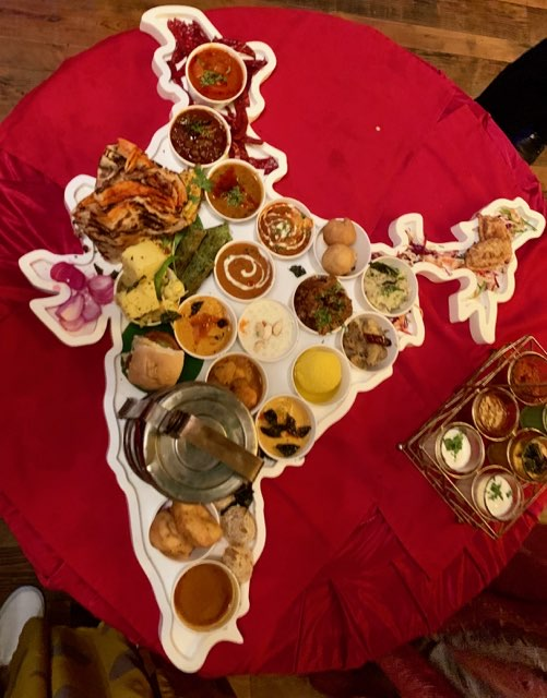 This United India Thali Spreads FlavourfulLove