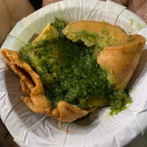 Samosa, one of the best